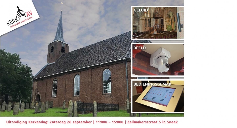 26 september; Kerkendag bij Kerk-AV