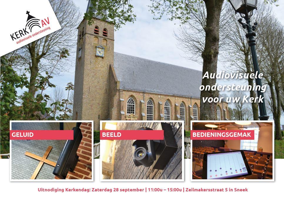 28 september; Kerkendag bij Kerk-AV